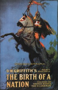 "Story told on ""Birth of a Nation"" movies in 1915 (silent)"